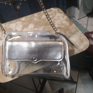 Clear crossbody purse